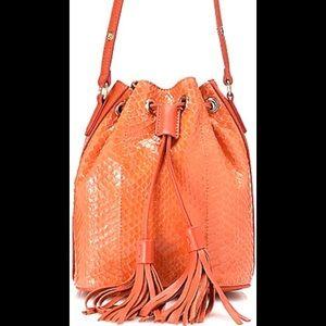 Handbags - Sharif Couture Drawstring Bucket Bag